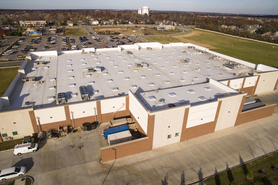 Kansas City Commercial Roofing Schefers Roofing Co